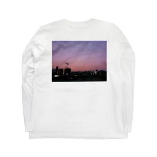 朝焼け Long sleeve T-shirts