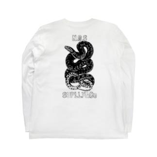 Snake  Long sleeve T-shirts
