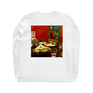 おあずけナン Long sleeve T-shirts