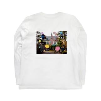 ろびフォト Long sleeve T-shirts