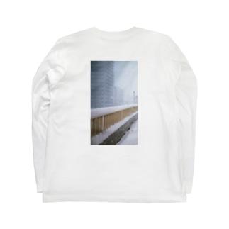 雪の日 t Long sleeve T-shirts