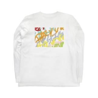 落書き Long sleeve T-shirts