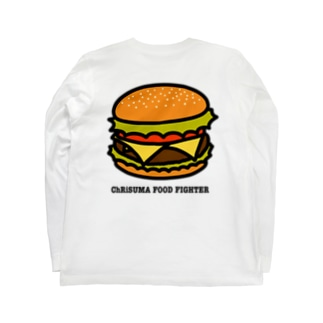 ChRiSUMA FOOD FIGHTER Long sleeve T-shirts