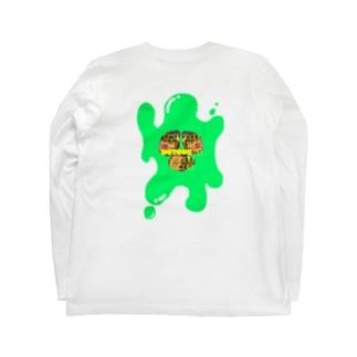 HOTOKEの顔もthreetimes Long sleeve T-shirts