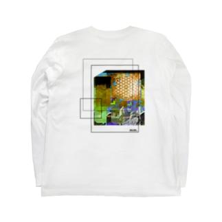ooomm - ロングスリーブTシャツ(社会風刺series vol.2) Long sleeve T-shirts
