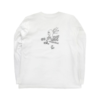 GO MY WAY Long sleeve T-shirts