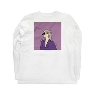 ムラサキノヒト Long sleeve T-shirts