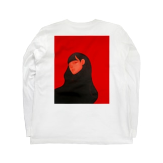 麗髪(うるかみ)シリーズ Long sleeve T-shirts