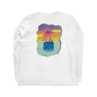 table cat Long sleeve T-shirts