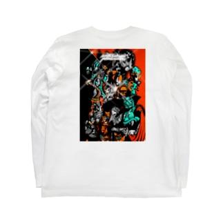 monotsukuri production ALL STARS Long sleeve T-shirts
