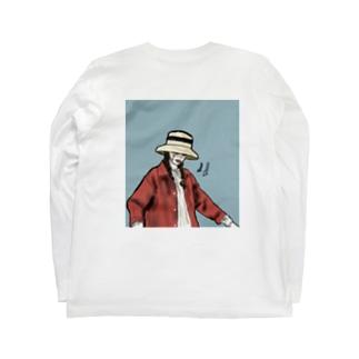 ネガティヴちゃん Long sleeve T-shirts