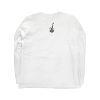 ベース猫 Long sleeve T-shirts