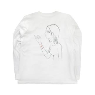 しにたい子 Long sleeve T-shirts