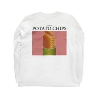 ポテトチップスが食べたい Long sleeve T-shirts