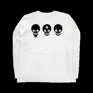 higotoraのWILD CAFE賊旗 Long sleeve T-shirts