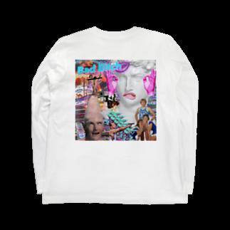 小島 涼のBAD BITCH Long sleeve T-shirts
