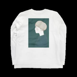 narobacoのマシュ子 Long sleeve T-shirts
