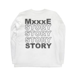 ゆるっと広場のYrt'os_MSlogo_BK.ver Long sleeve T-shirts