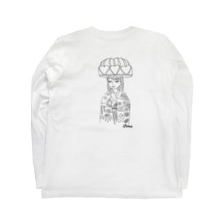 琉装マリアロンT Long sleeve T-shirts