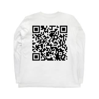レッドシューズYouTubeQRコード Long sleeve T-shirts