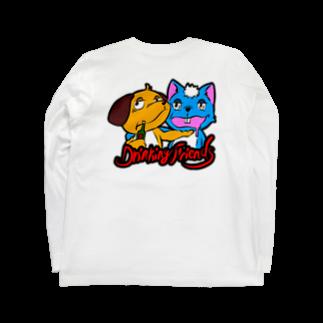 RyuuKobayashiのdrinking friends Long sleeve T-shirts