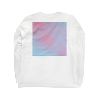 spring gradation Long sleeve T-shirts