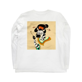 浮世縞馬 Long sleeve T-shirts