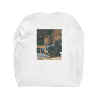 stayhomeロンT Long sleeve T-shirts