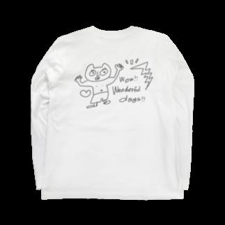 tsubomi creativeのWonderful days ! Long sleeve T-shirts
