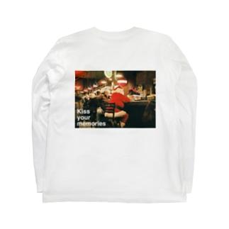 """ Break time ""  back print  Long sleeve T-shirts"