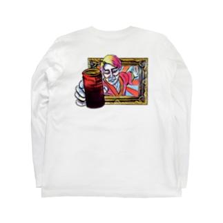 ヒノマルエスビーの西日本缶珈琲女子 Long sleeve T-shirtsの裏面