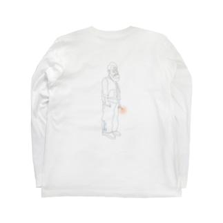 Haphazard life.のSmoking Daddy Long sleeve Tee Long sleeve T-shirts