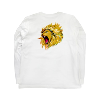 LION Long sleeve T-shirts