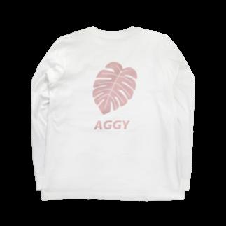 yunoのAGGY Long sleeve T-shirts