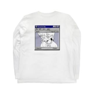 喫煙が〜る  Long sleeve T-shirts