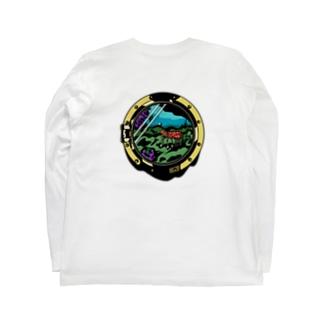 Shrimp : Logo Black Long sleeve T-shirts