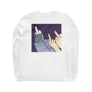 ぴこ Long sleeve T-shirts