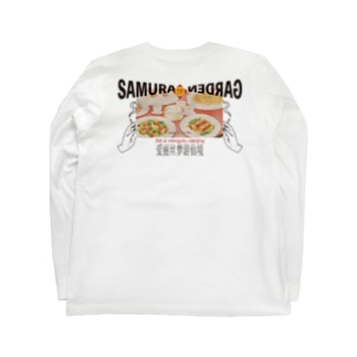 Kung pao noodleクンパオチキンヌードル Long sleeve T-shirts