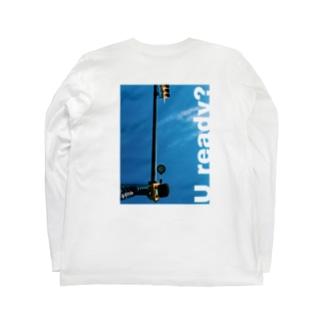 U ready? タテ Long sleeve T-shirts