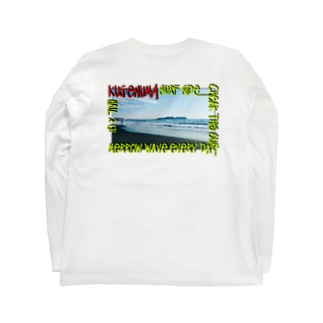 鵠沼海岸 Beahシリーズ Long sleeve T-shirts