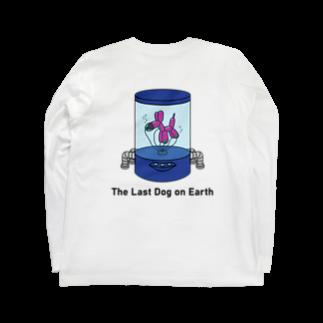 PENGUIN PEARL PRESENTSのThe Last Dog on Earth  Long sleeve T-shirts