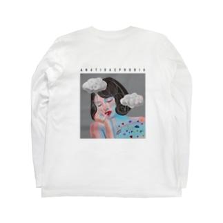 アヒルに見つめられることに対する恐怖症 / simple / for light color Long sleeve T-shirts