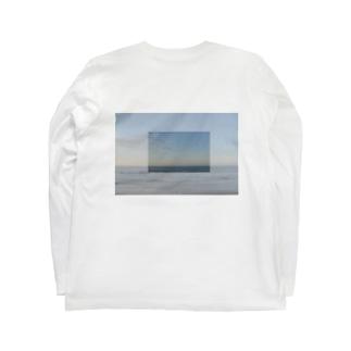 朝日 と 海 Long sleeve T-shirts