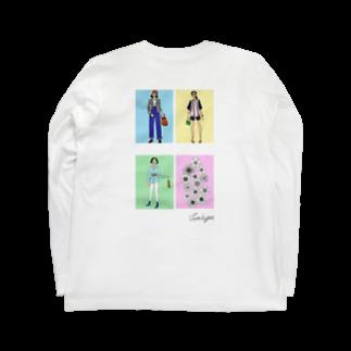 saiyu(彩由)のtown snap / spring Long sleeve T-shirts