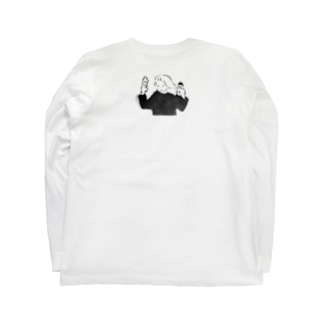 アイスと女子 Long sleeve T-shirts