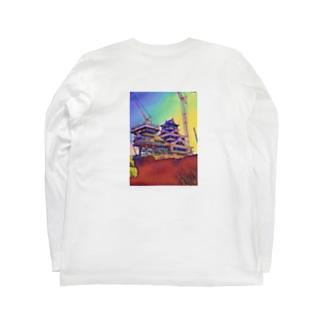 メカ城-2- Long sleeve T-shirts