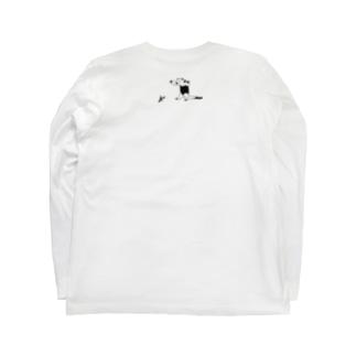 威嚇のポーズ Long Sleeve T-Shirt