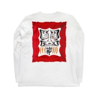 Tokiwa brosの枠達磨 Long sleeve T-shirts