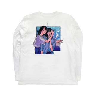 タバコ女子 Long sleeve T-shirts