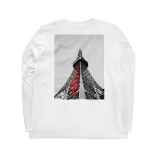 東京不眠 Long sleeve T-shirts